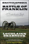 "alt=""The front cover of Lochlainn Seabrook's book Encyclopedia of the Battle of Franklin"""
