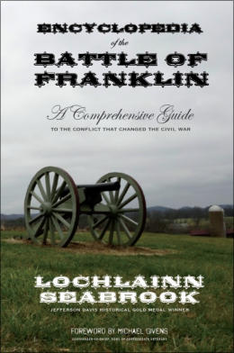 """Encyclopedia of the Battle of Franklin"" from Sea Raven Press (hardcover)"