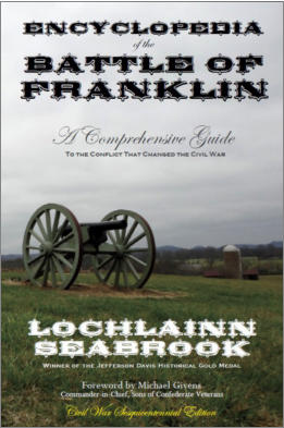 """Encyclopedia of the Battle of Franklin"" from Sea Raven Press (paperback)"