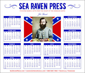 Jeb Stuart Yearly Wall Calendar from Sea Raven Press
