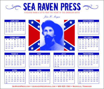 John H. Morgan Yearly Wall Calendar from Sea Raven Press