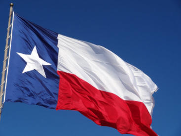 Texas State Flag from Sea Raven Press