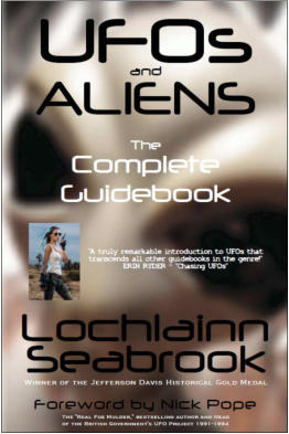 """UFOs and Aliens: The Complete Guidebook"" from Sea Raven Press (paperback)"